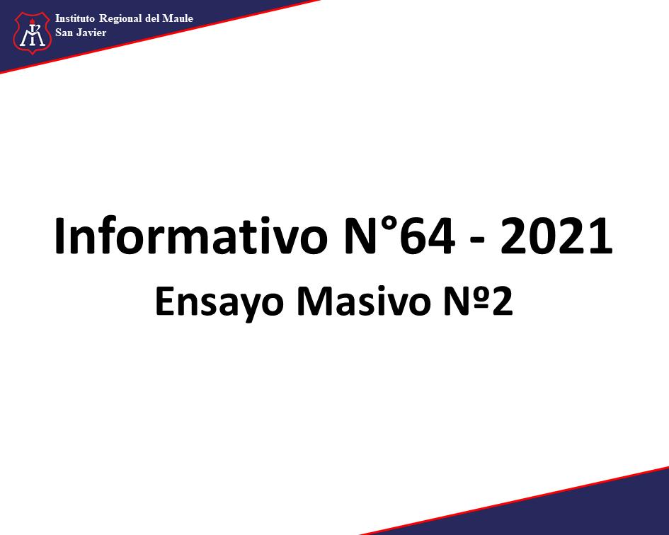 InformativoN642021